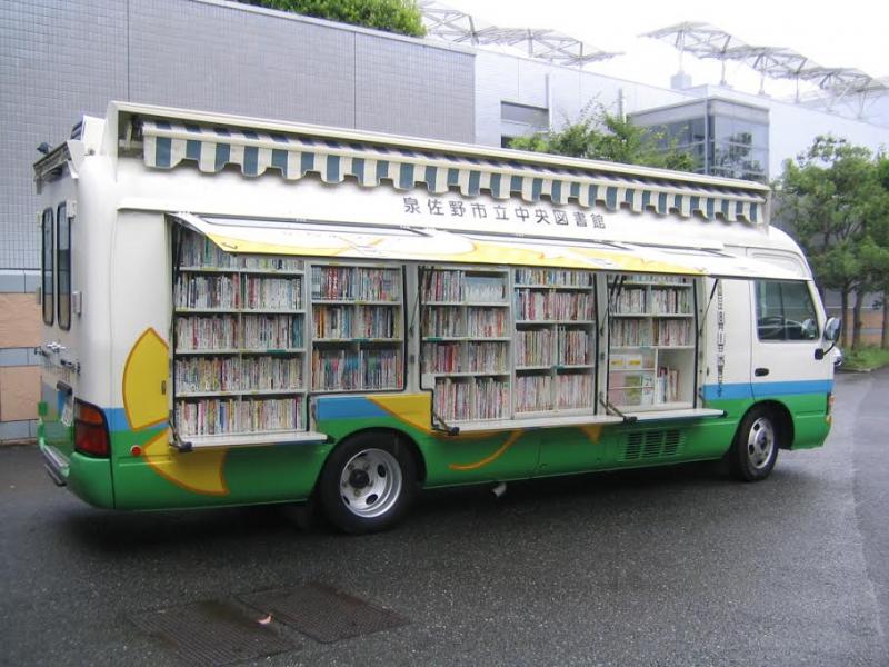 画像:移動図書館「いちょう号」がやってくる!01